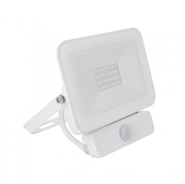 LED Außenstrahler 20 Watt IP65 mit Bewegungsmelder, 20 Watt, Lichtfarbe 4500K