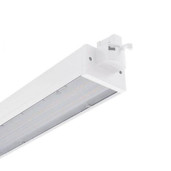 LED Stromschienenstrahler S3 1000mm weiß, 30 Watt, Lichtfarbe 4000K warmweiß