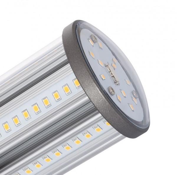 LED Straßenbeleuchtung E27 18 Watt, Lichtfarbe 6000K tageslichtweiß