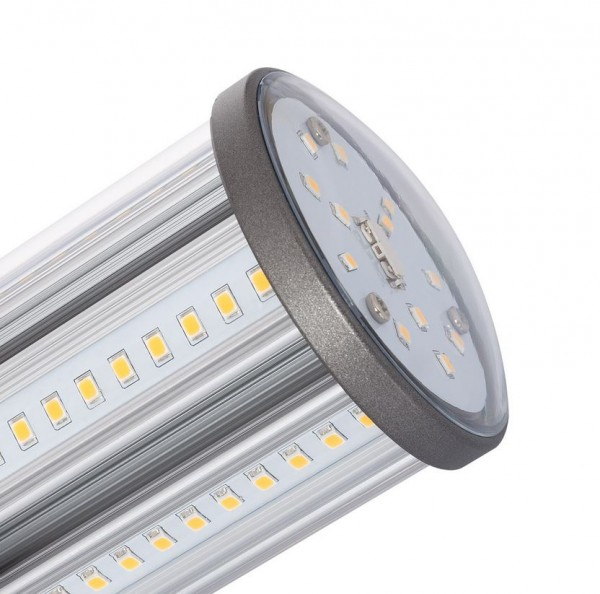 LED Straßenbeleuchtung E27 18 Watt, Lichtfarbe 3000K warmweiß
