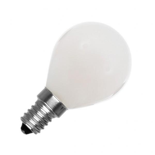 LED Lampe Glas, Glühlampenform E14, 4 Watt, Lichtfarbe 2800K warmweiß, ~360lm