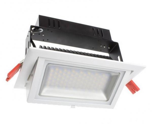 LED Einbaustrahler/ Downlight schwenkbar 4000K, 38W, 4500 lm