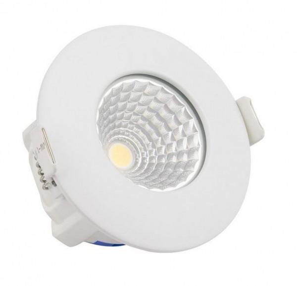 LED Einbaustrahler/ Downlight IP65 wasserfest 4000K, 620 lm, 8W