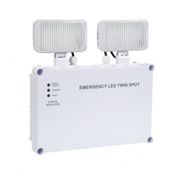 LED Notleuchte mobil/ Wandmontage 6 Watt, 400 LEDlm, Akku: 3,6 V , 4,5Ah
