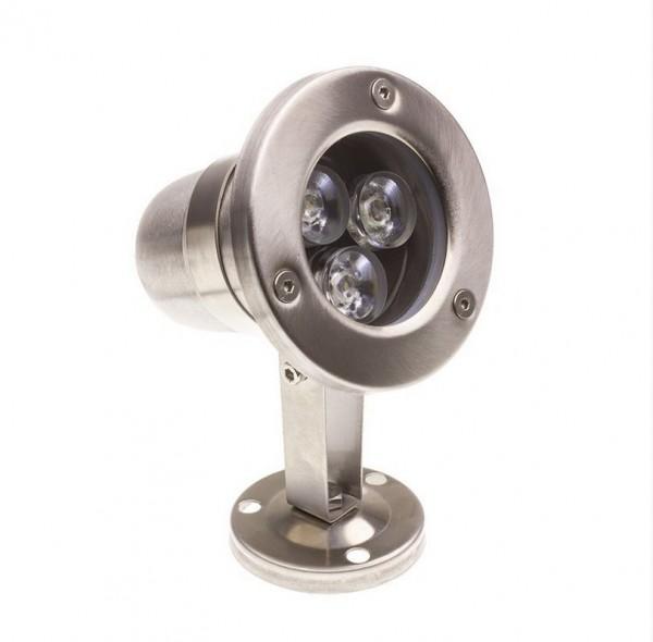 LED Poolbeleuchtung/ Pool-Leuchte Aufbau IP68, 280 lm, 3W, Lichtfarbe kaltweiß