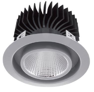 LED Einbaustrahler/ Downlight LDL-30-840-4020-9006, 4000K