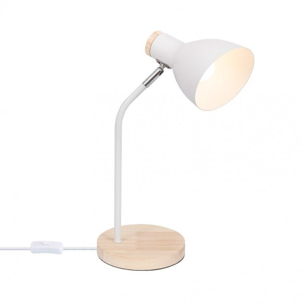 Schreibtischleuchte (ohne Leuchtmittel), Fassung E27, max. 40Watt